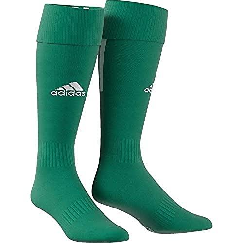 adidas SANTOS SOCK 18 Socks, Unisex adulto, Bold Green/White, 4345