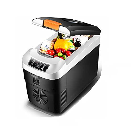 PEIHAN Refrigerador de 12 voltios Congelador portátil Refrigerador para automóvil 12L / 25L (- 25 ℃ ~ 65 ℃) con 12/24 V CC y 110 V CA - Refrigerador de compresor de refrigeración/calefacción