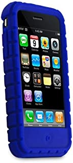 Speck IPH3G-BLU-PXK PixelSkin for iPhone 3G - 1 Pack - Blue