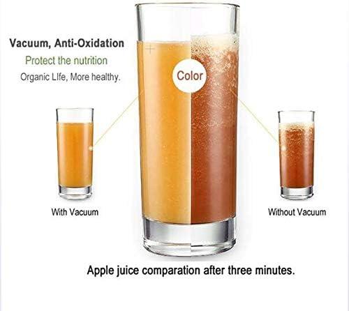 Vacío Mezclador De Múltiples Funciones del Hogar Exprimidor Sin BPA Anti-Oxidación Función De Control De Velocidad 3 1500 Ml Batido De Frutas Batido De Leche A