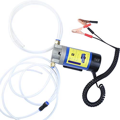 #N/V Bomba de cambio de succión eléctrica de 12 V, bomba de cambio de aceite de motor de metal, bomba extractora duradera para coche, 1 unidad