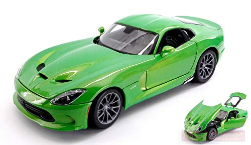maqueta de coche 1:24//maisto Dodge Viper SRT GTS 2013 negro