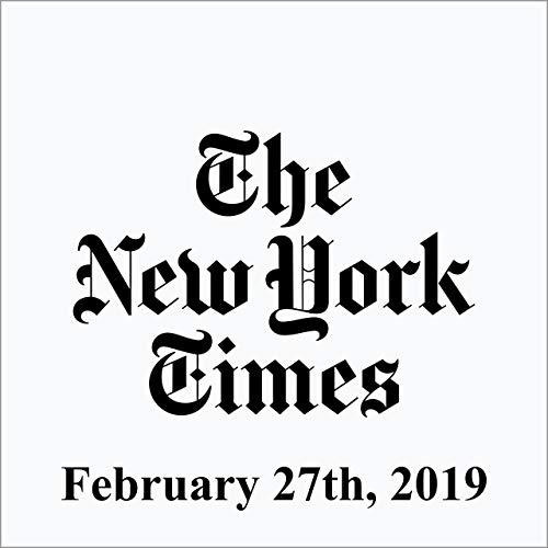 February 27, 2019 copertina