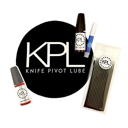 Knife Care & Maintenance Kit Bundle by Knife Pivot Lube