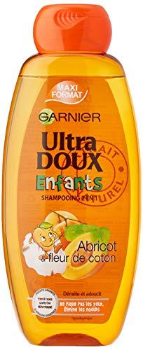 Garnier Ultra doux Enfants Abricot et Fleur de Coton - Shampooing 400ML