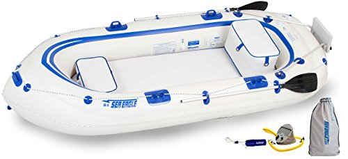 Sea Eagle SE9 Inflatable Motormount Boat - Fisherman's Dream Package
