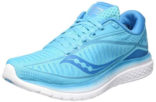 Saucony Kinvara 10 Wettkampfschuh Damen-Hellblau, Blau, Running Zapatillas de competición Mujer, Blue, 38 EU