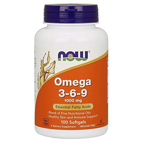 Now Foods, Omega 3-6-9 1000 mg, 100 Softgels