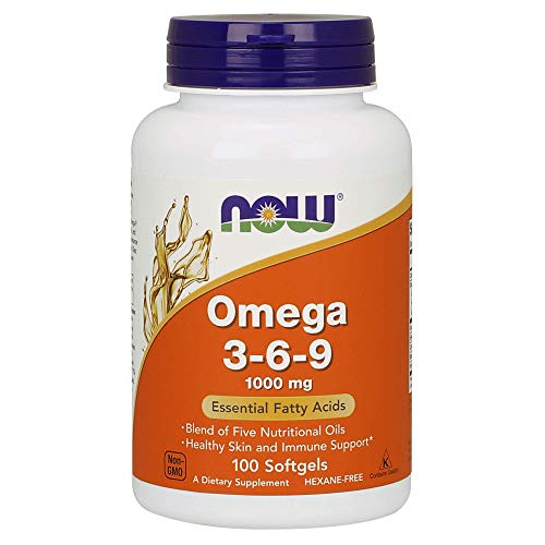 Now Omega 3-6-9 1000 Mg, 100 Stuk, 100 Units