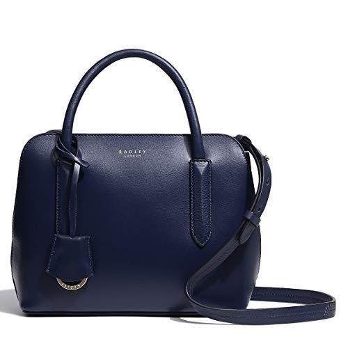 Radley Liverpool Street 2.0 Small Zip Top Multiway Bag New Shape (Dark Blue)