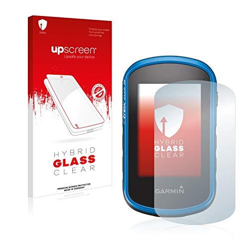 upscreen Protector Pantalla Cristal Templado Compatible con Garmin eTrex Touch 35 Hybrid Glass - 9H Dureza