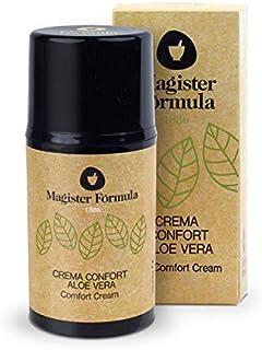 Crema Aloe Vera Hidratante Confort 50 ml | Extracto de Aceite 100% Puro | Todo tipo de piel | Regeneradora facial | Antied...