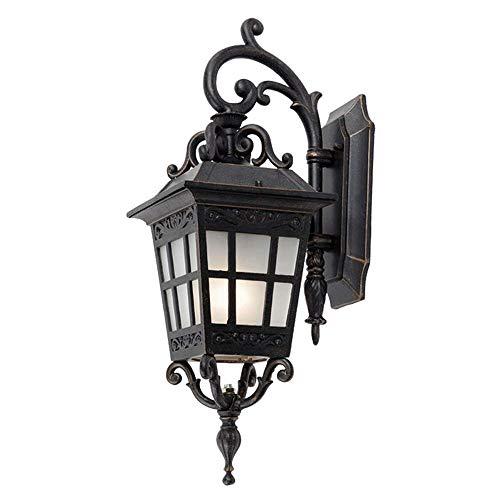 Lámpara de Pared Para Exteriores Tradicional de pared exterior ligera, sencilla americana al aire libre impermeable de la lámpara y la pared a prueba de herrumbre, Villa Patio de la lámpara, for la ca