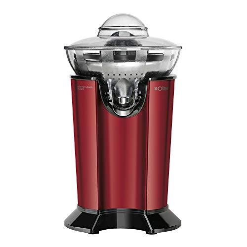Solac EX6158 Stillo Red Exprimidor centrífugo para obtener un 10% más de zumo, Plastique, Rojo