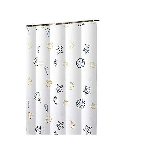 CXL Duschvorhang Polyester, verdickter wasserdichter Duschvorhang, umweltfre&licher Duschvorhang für das Badezimmer