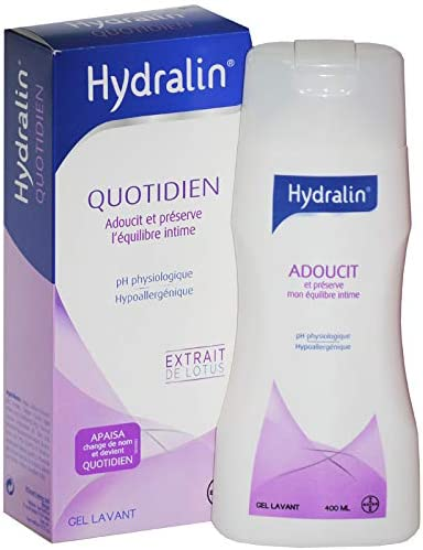 Hydralin Quotidien - Pour prendre soin de votre intimité jour après jour - Lot de 2 x 400ml