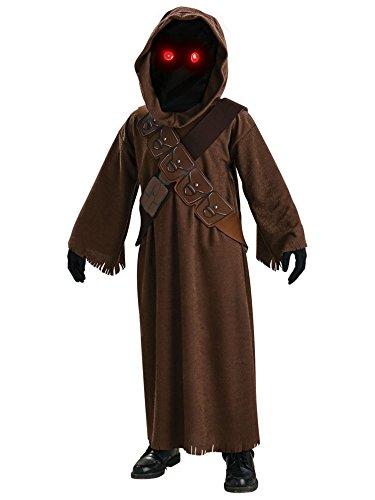 Jawa Kids Fancy Dress Star Wars Scifi Halloween Movie Kids Childs Costume Outfit