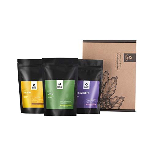 Coffee Circle | Premium Kaffee Probierpaket | 3x100g ganze Bohne | Filterkaffee aus Äthiopien & Kolumbien | 100% Arabica | fair & direkt gehandelt | frisch & schonend geröstet
