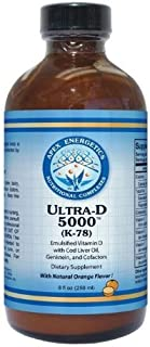 Sponsored Ad - Apex Energetics Ultra-D 5000 (K-78) ~ Emulsified Vitamin D with Cod Liver Oil Genistein & Cofactors