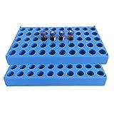 2 contenitori portafiale, di colore blu, ogni singolo contenitori può contenere fino a 50...