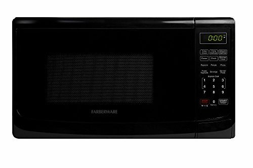 Farberware Classic FMO07ABTBKA 0.7 Cubic Foot 700 Watt Microwave Oven, Black