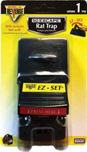Bonide Products 917438 Revenge Ez Press & Set Rat Trap, 1 Trap