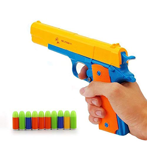 OYJD Pistola de Juguete, Pistola de Bala de Goma Pistola de Juguete M1911 clásica 1: 1