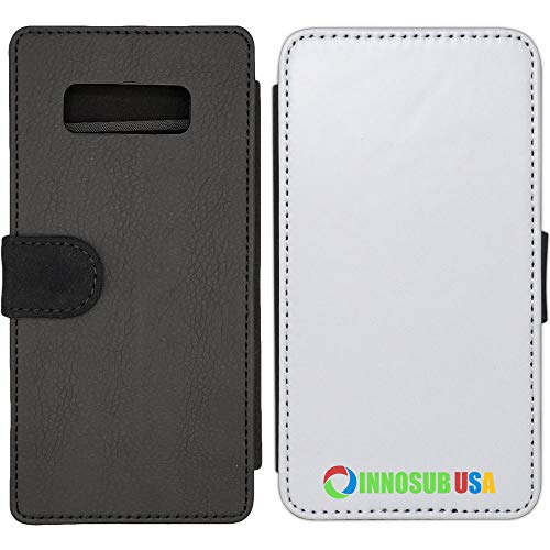 5X Sublimation Blank Wallet Flip Cases Compatible with Galaxy Note 8 - with 3 Credit Card Slots for Dye Sublimation/Phone Cover/Blank Printable Cases, Made by INNOSUB USA