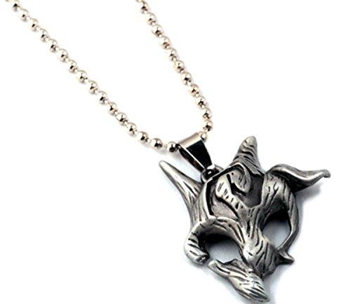 Collana con ciondolo a forma di catena collana gioielli accessori Kindred League of Legends LOL simbolo gioielli design Premium gioielli deve per tutti i fan fan articolo