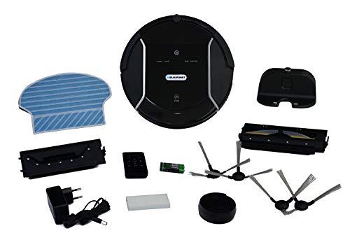 Blaupunkt Bluebot XSMART Saugrobotor mit Wischfunktion und App-Steuerung, 35W, 180 m2 Reichweite, 0,5L Staubbehälter mit HEPA-Filter (Amazon Alexa kompatibel) - 6