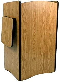 Amplivox SW3230-OK Multimedia Computer Lectern with Wireless Sound System