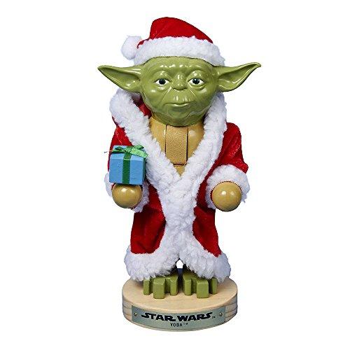 Joy Toy 96151 Yoda Casse-Noix en Bois dans Un Emballage Cadeau 12 x 9 x 23 cm 12 x 9 x 23 cm