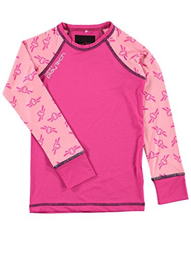 NAME IT NAME IT Mädchen Funktions Unterwäsche Set Ski & Sport Unterhose/Unterhemd lang Baselayer 13096459 pink gio Gr. 164