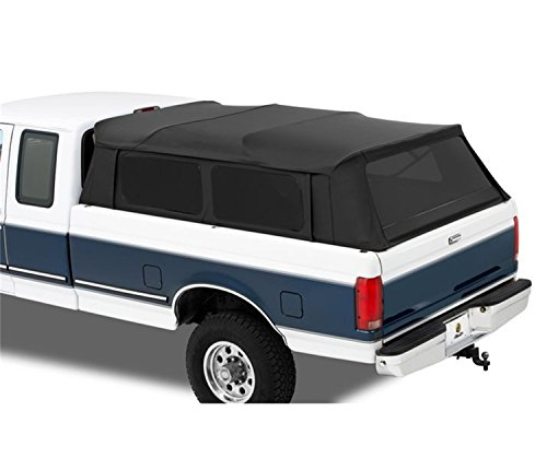Bestop 7630935 Black Diamond Supertop for Truck - 5.5' for 204-2017 Ford F-150 Super Crew, 2007-2019 Nissan Titan Crew Cab (w/o Utility Track System)