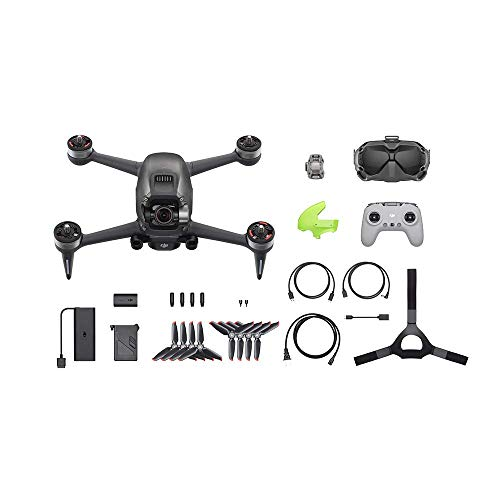 DJI FPV Combo + Care Refresh (Auto-activated) - First-Person View Drohne Flycam Quadrocopter UAV, OcuSync 3.0 HD-Übertragung, 4K-Video, Superweites 150 ° FOV, der Abdeckung vielfältiger Schadensarten