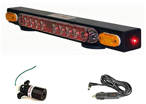 Why Choose BA Products Towmate TM21C-7RV 21 Towmate Wireless Tow Light with 7 Way RV (6 Flats Aroun...