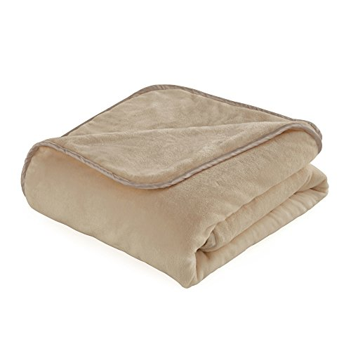 The Vellux Heavy Weight 12 Pound Weighted Camel Blanket