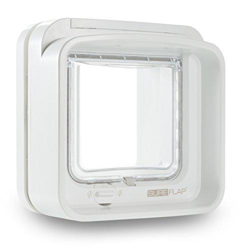 SureFlap DualScan Katzenklappe, weiss