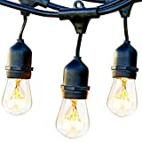 Brightech Ambience Pro - Waterproof Outdoor String Lights -...