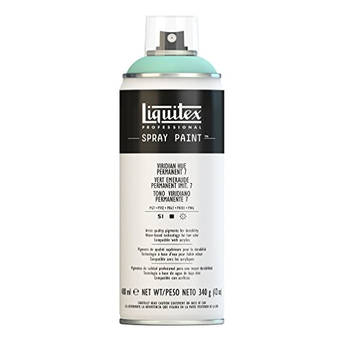 Liquitex Professional - Acrílico en spray, 400ml, tono viridiano permanente 7