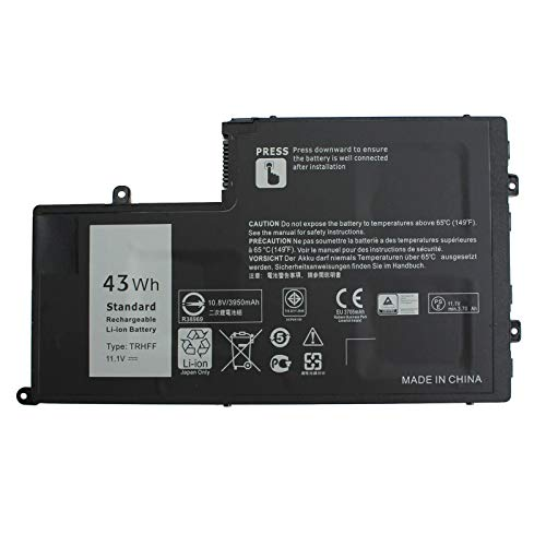 7XINbox 11.1V 43Wh TRHFF 1V2F6 7P3X9 1WWHW R0JM6 J0HDW Laptop Battery Replacement for Dell Inspiron 14 5442 5443 5445 5447 15 5542 5545 5547 5548 5557 Latitude 3450 3550