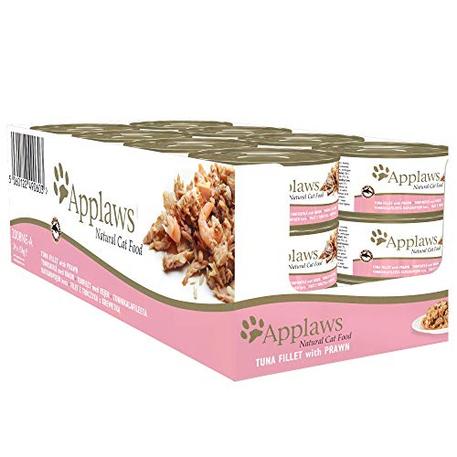 Applaws Thunfischfilet & Garnele, 24er Pack (24 x 156 g)