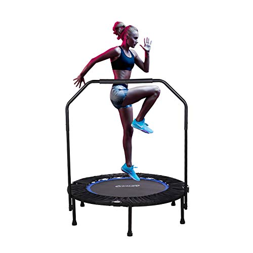 Newan Trampoline, 40' Mini Fitness Rebounder Trampoline Indoor for Adults, Best Home Exercise -...