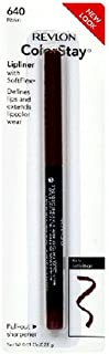 Revlon ColorStay Lipliner with SoftFlex, Raisin 640, 0.01 Ounce