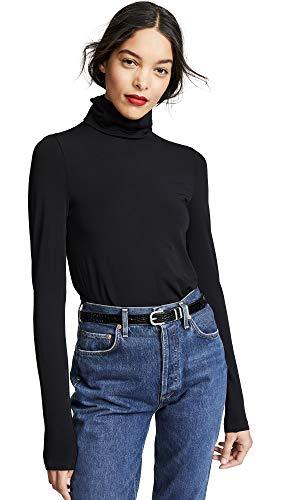 Wolford Damen 56216 Rollkragen-Pullover.7005 Black,Large (L)