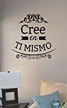JS Artworks Cree En Ti Mismo Spanish Believe in Yourself Vinyl Wall Art Decal Sticker