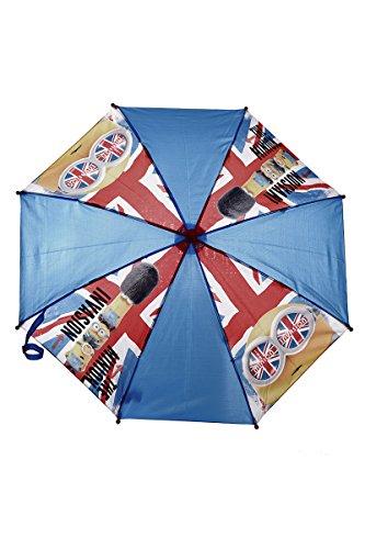 Party Factory Minions Despicable Me Regenschirm für Kinder Blau/Rot
