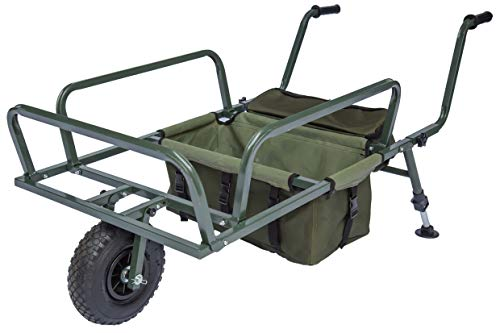 NEU DD-Tackle XXL Angel Trolley Karpfen Transportwagen Transportkarre Barrow Tacklekarre Angel Wagen Karre