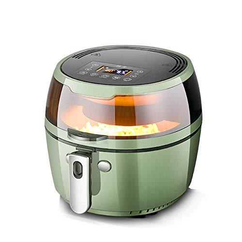 XQKQ Indoor Grills & Griddles, ir Friteuse, Digital Air Fryer, mit 8 Smart-Modi, Smart 360deg;Pfannengerichte,...