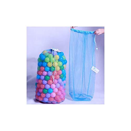 MissNature Niños Ball Pit Balls Storage Net Bag Organizadores de Juguetes para 200 Bolas sin Bola Azul